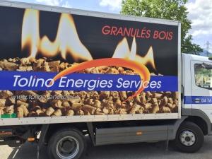 Camion Granulé de Bois